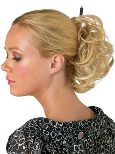 Synthetic Blonde Best Wraps / Buns Hairpieces