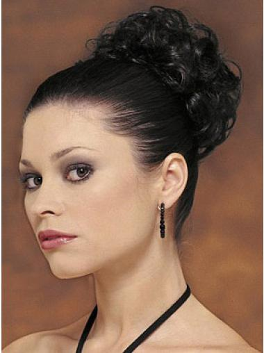 Synthetic Black Amazing Wraps / Buns Hairpieces