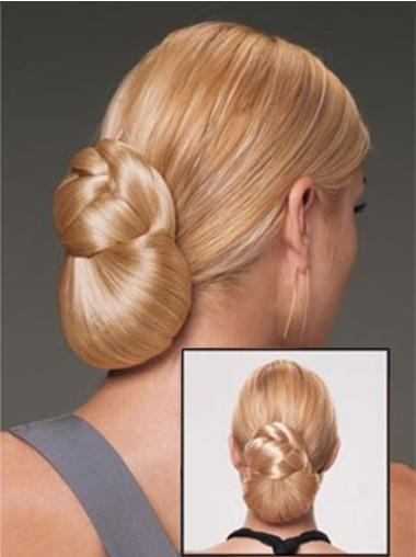 Synthetic Brown Easy Wraps / Buns
