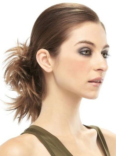 Remy Human Hair Brown Tempting Wraps / Buns