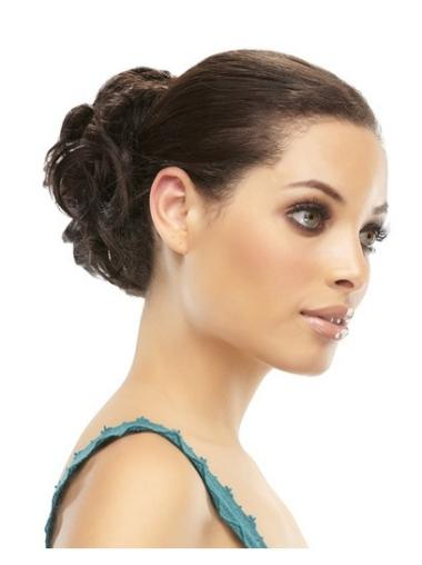 Remy Human Hair Brown Traditiona Wraps / Buns