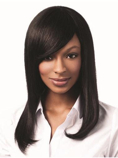 """Black 16"""" African American Hair Wigs"""