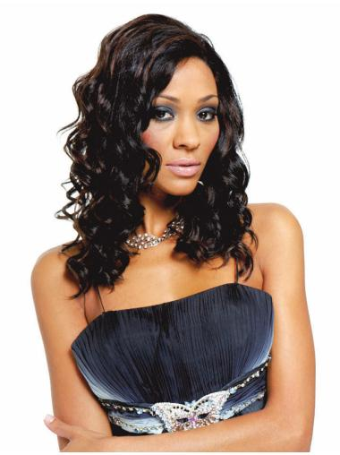 """12"""" Wavy Synthetic Brown African Wigs"""