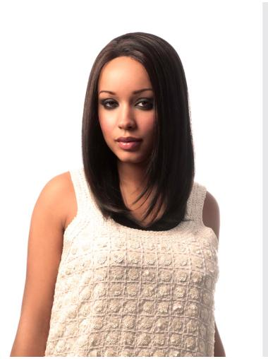 Brown Straight African American Wigs