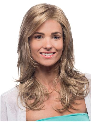 Blonde Wavy Synthetic Heat Friendly Long Wigs