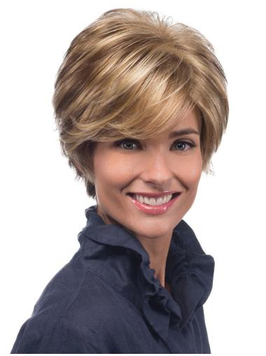 Capless Heat Friendly Synthetic Short Wigs