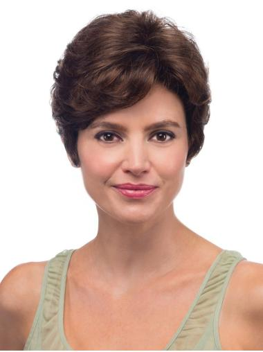 Wavy Layered Lace Front Short Wig