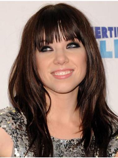 "16"" Brown Capless Carly Rae Jepsen Wigs"