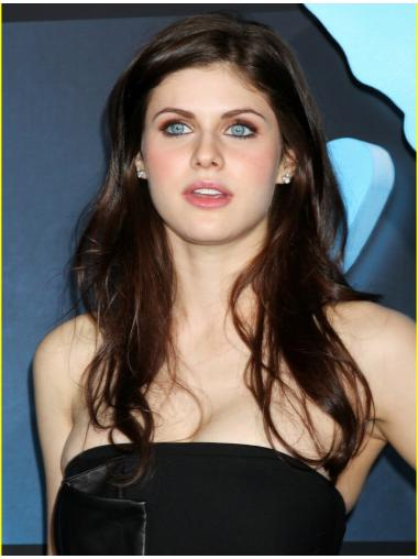 "Synthetic 18"" Lace Front Alexandra Anna Daddario Wigs"