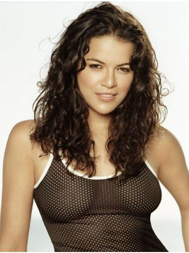 "Curly Capless 16"" Michelle Rodriguez Wigs"