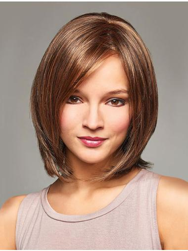 Chin Length Monofilament Short Wigs