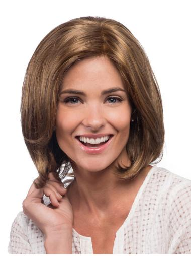 Short Straight Synthetic Lace Front Wigs