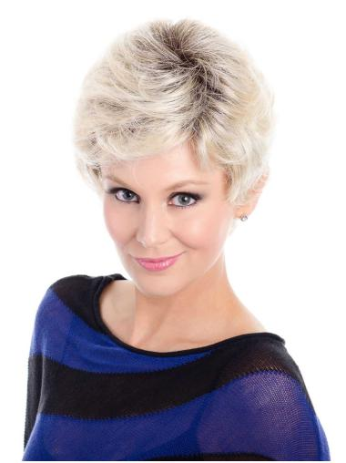 Short Grey Hair Wigs In Natural Hair