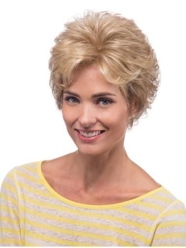 Blonde Lace Front Classic Curly Wigs