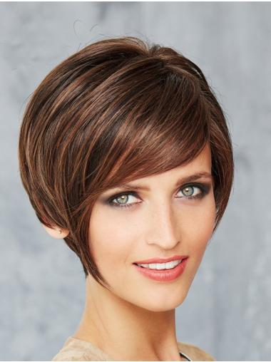 Monofilament Brown Synthetic 8\' Short Bob