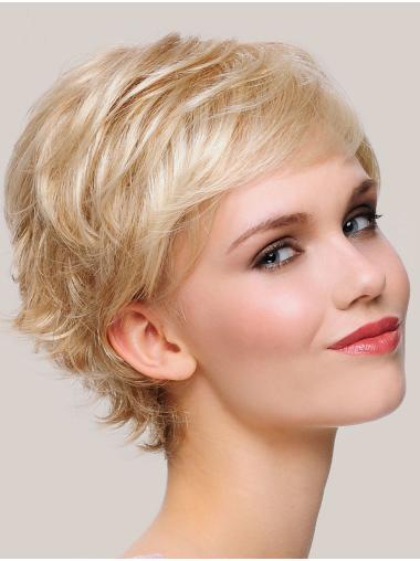 """Online Monofilament Synthetic Straight 6"""" Short Wigs"""