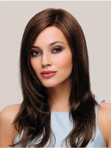 """Synthetic 18"""" Straight Monofilament Gorgeous Long Wigs"""