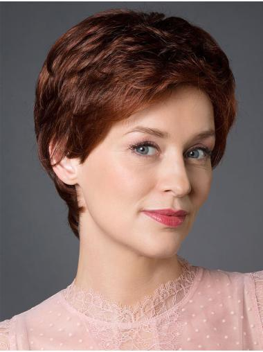 """Cheapest 100% Hand-tied Synthetic Straight 8"""" Short Wigs"""