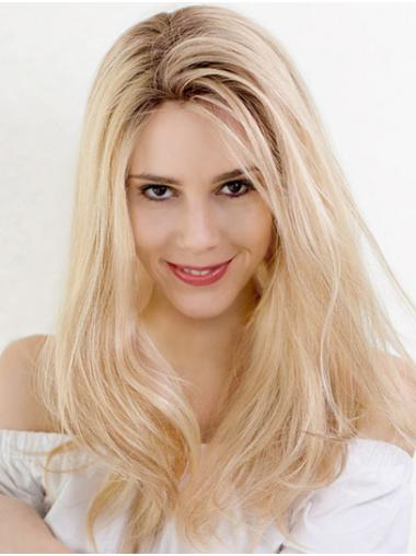 """18"""" Long Wavy Ombre/2 tone Layered Soft Cap Hand Tied Wigs"""