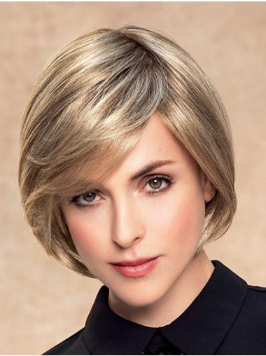 Short Wavy Monofilament Ombre/2 tone Synthetic Lace Wigs Online