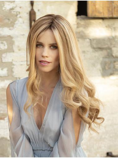 """18"""" Long Wavy Monofilament Ombre/2 Tone Without Bangs Perfect Synthetic Wigs"""