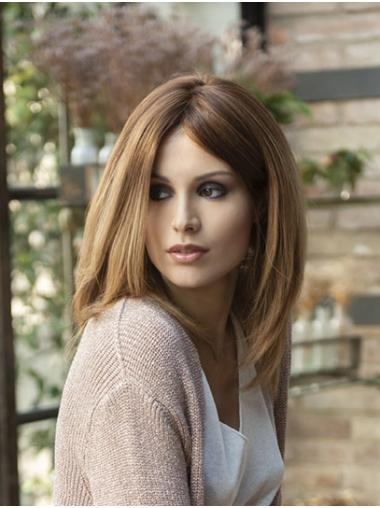 """Straight Blonde 14"""" Shoulder Length Synthetic Bobs Lace Front Wigs Wholesale"""