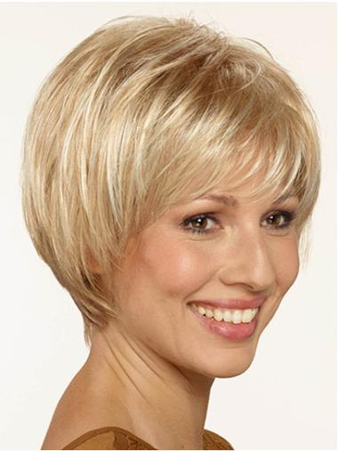 "Capless Synthetic Short 10"" Bob Wig"