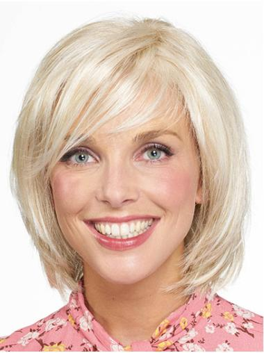 "Monofilament Synthetic Chin Length 10"" Bob Haircuts"