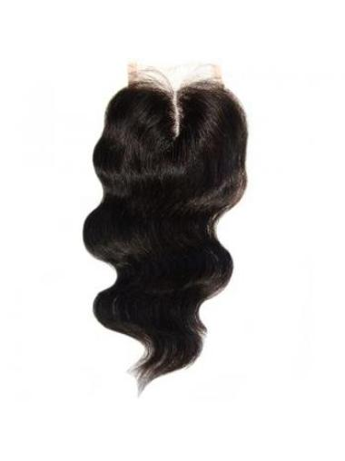Nice Black Wavy Long Lace Closures