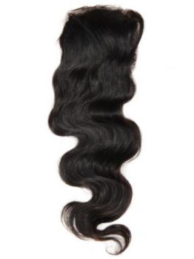 Braw Black Wavy Long Lace Closures