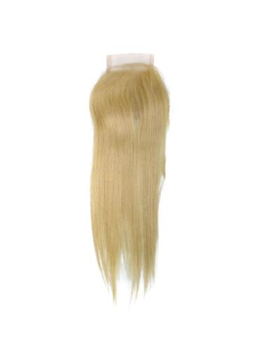 Radiant Blonde Straight Long Lace Closures