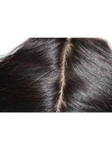 Tempting Black Wavy Long Lace Closures Extensions