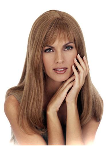 Discount Blonde Monofilament Long Human Hair Wigs