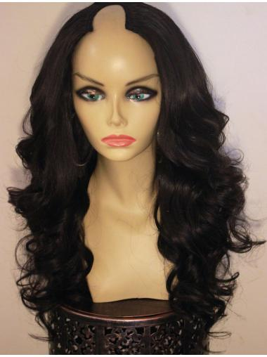 Affordable Black Wavy Long African American Wigs