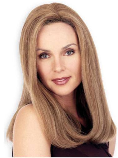 Nice Blonde Straight Long Lace Wigs