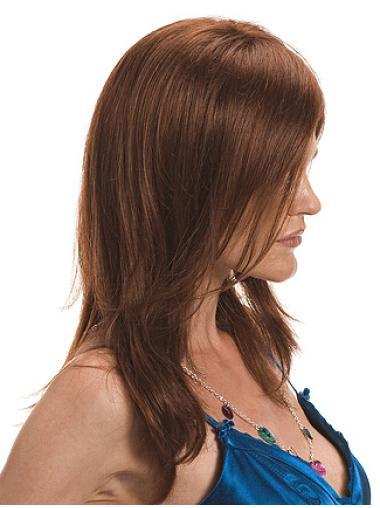 Modern Monofilament Wavy Long African American Wigs