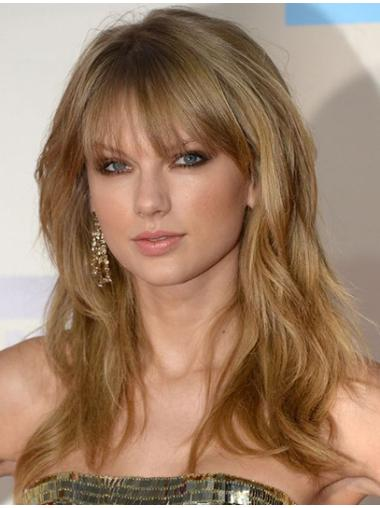 Comfortable Blonde Wavy Long Taylor Swift Wigs