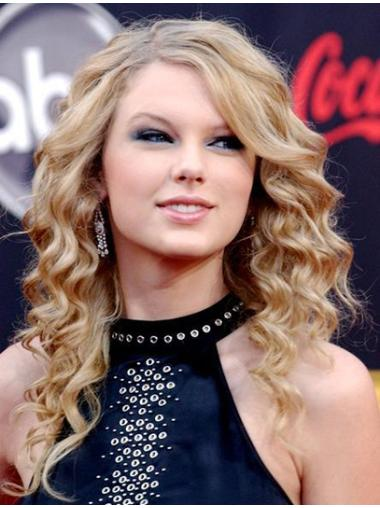 Exquisite Blonde Curly Long Taylor Swift Wigs