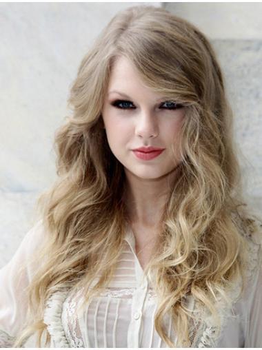 Designed Blonde Wavy Long Taylor Swift Wigs