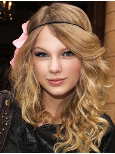 Cosy Blonde Wavy Long Taylor Swift Wigs