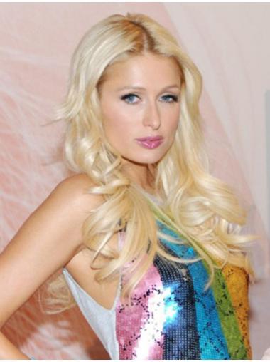 Tempting Blonde Wavy Long Paris Hilton Wigs
