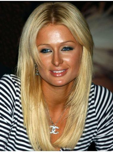 Easy Blonde Straight Long Paris Hilton Wigs