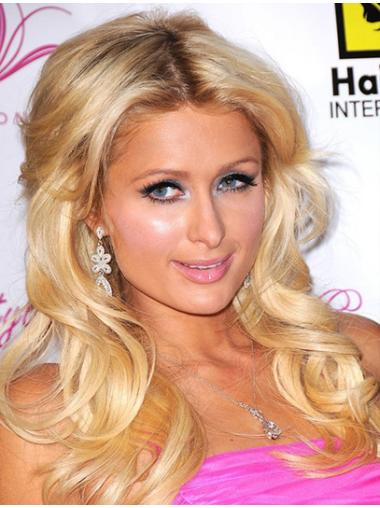 Radiant Blonde Wavy Long Paris Hilton Wigs
