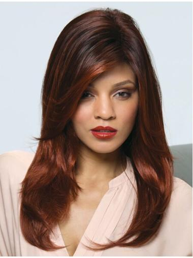 Good Auburn Straight Synthetic Long Wigs