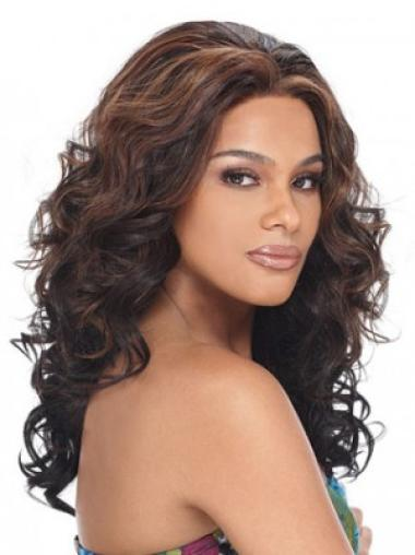 New Synthetic Lace Front Wavy Long Wigs