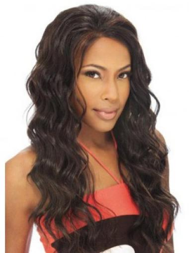 Radiant Remy Human Hair Lace Front Wavy Long Wigs