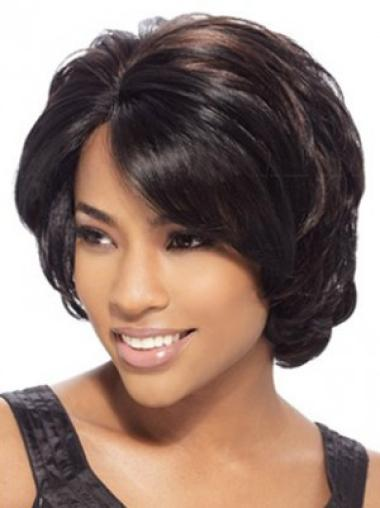 Lace Front Wavy Synthetic Nice Medium Wigs