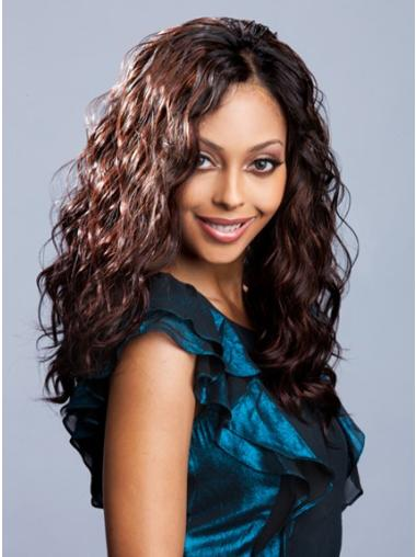 Wholesome Auburn Wavy Long Glueless Lace Wigs