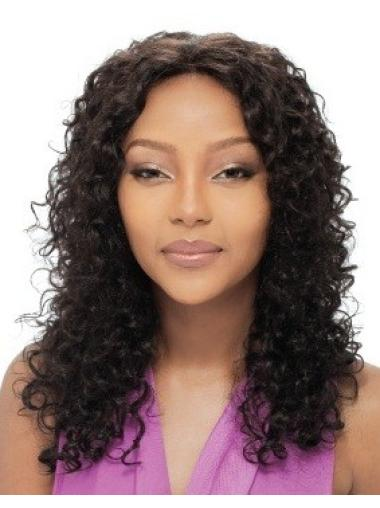 Good Black Curly Long African American Wigs