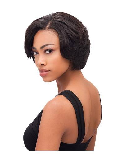 New Brown Straight Short African American Wigs